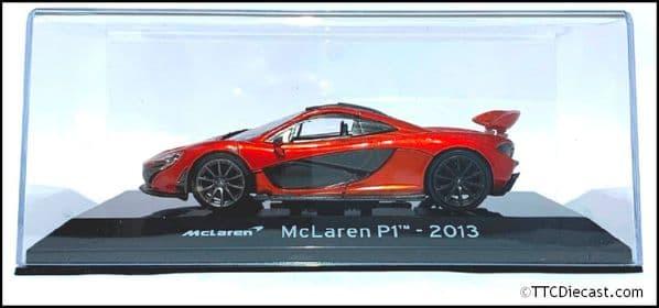 1:43 Scale Diecast - McLaren P1 2013 - Metallic Red - Solid plastic case - MAG MK02